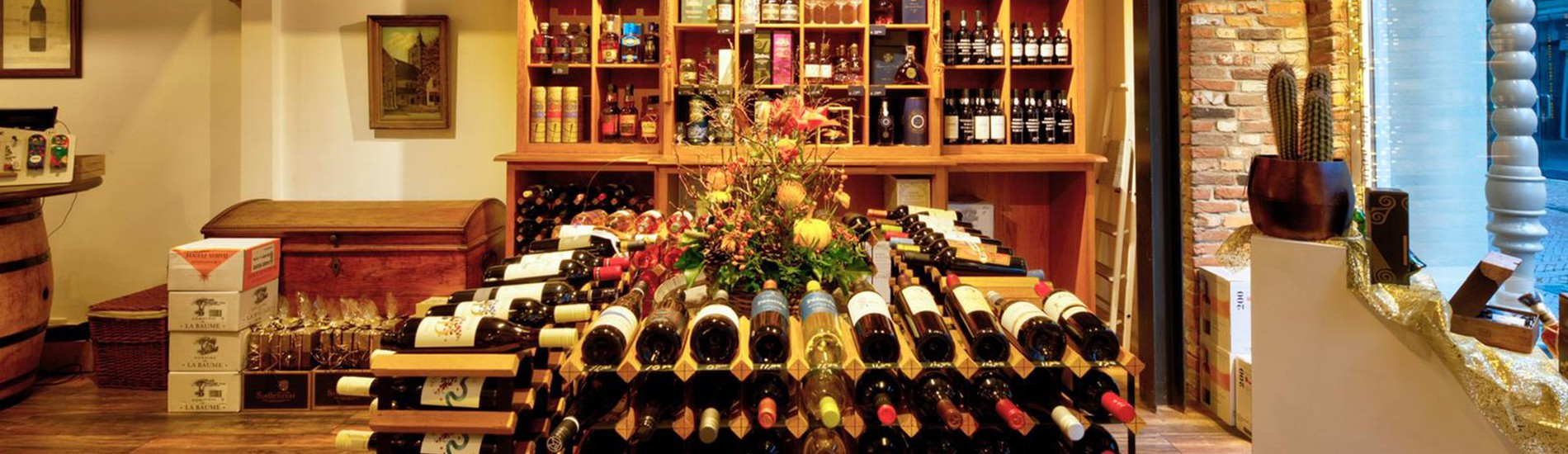 Meer dan 300 wijnen  uit voorraad leverbaar